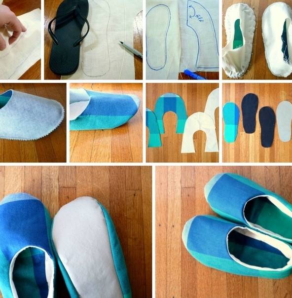 Как сделано теплая обувь 63