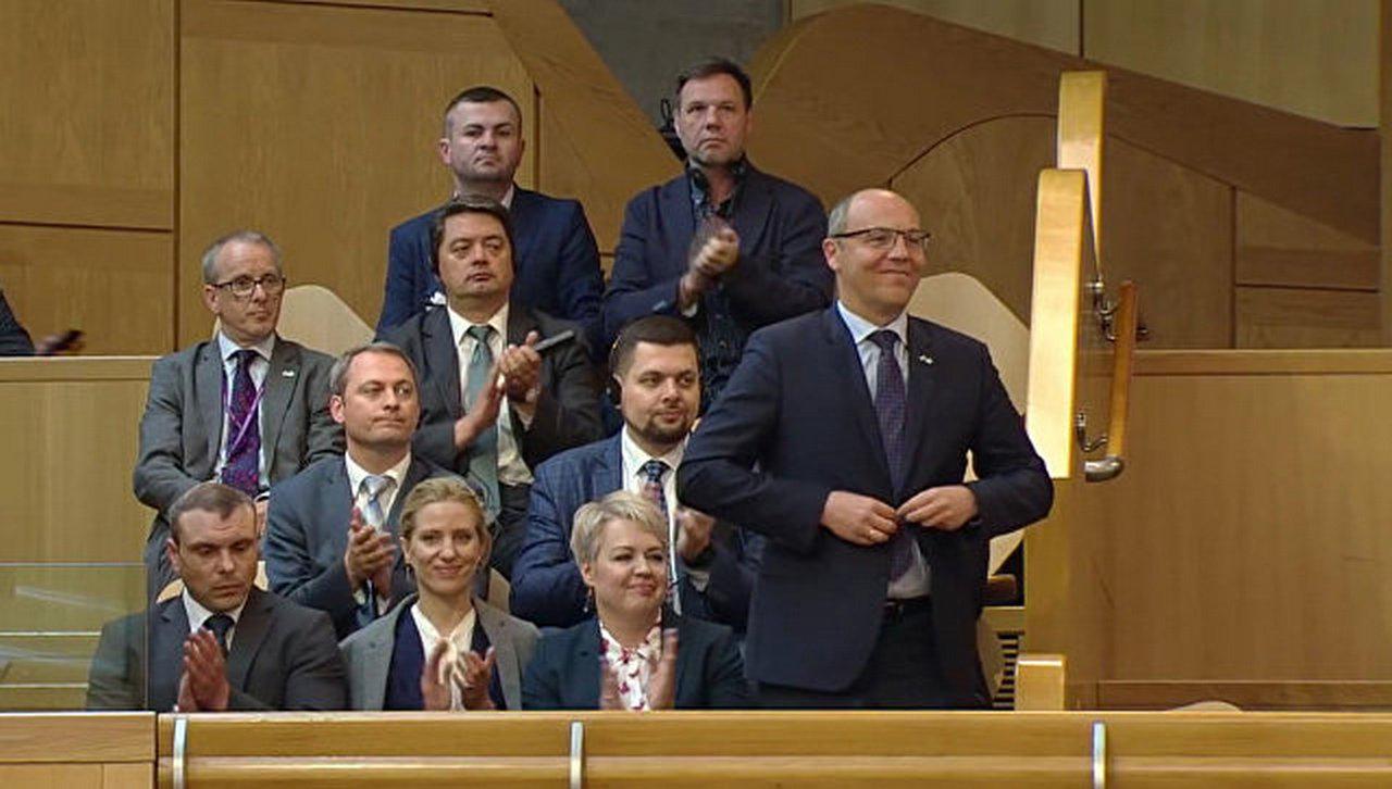«Не аплодировать нацисту»: в Шотландии разгорелся скандал из-за Парубия