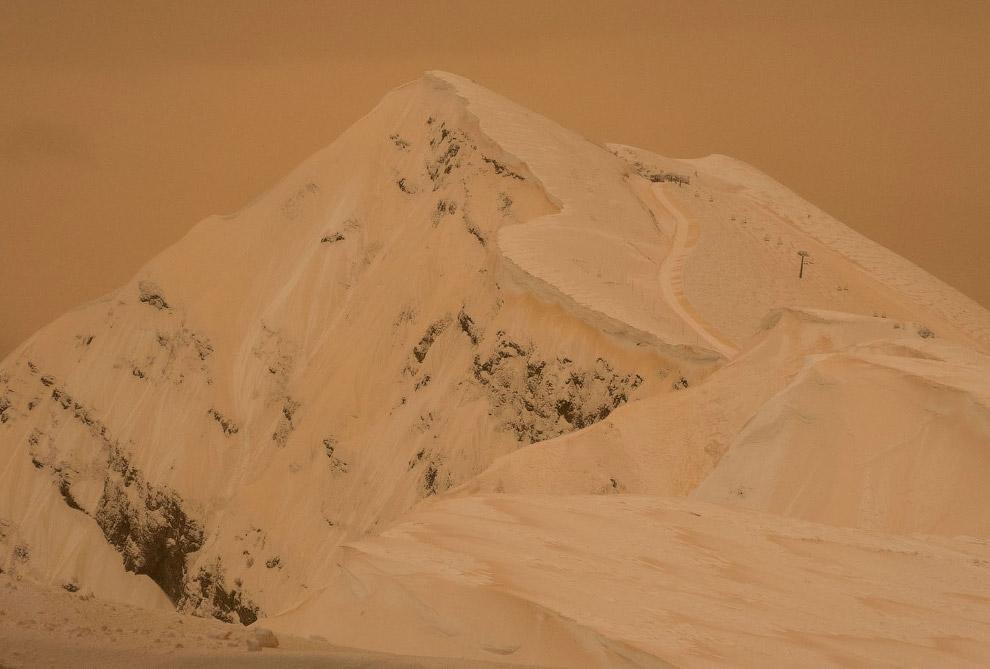Оранжевая гора в Сочи