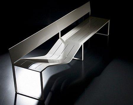 Креативная городская мебель, арт скамейки.