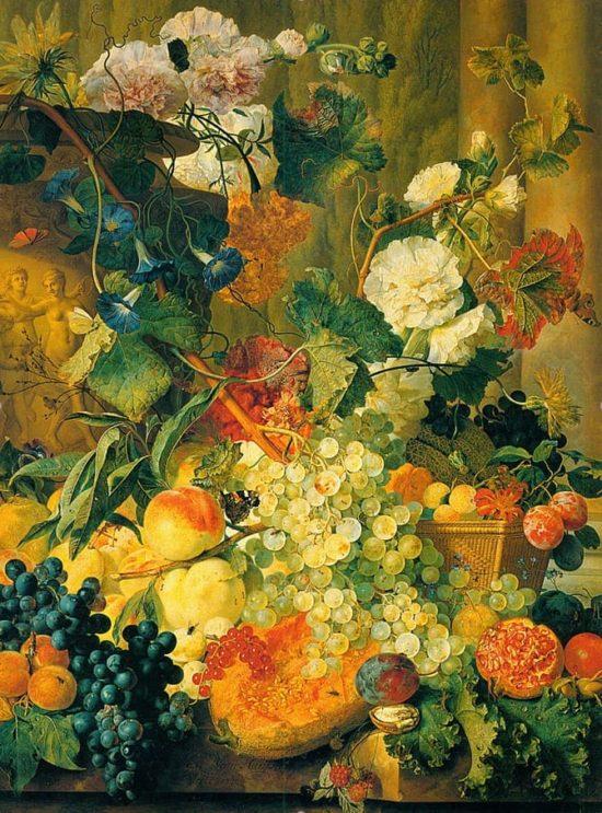 художник Ян ван Хёйсум (Jan Van Huysum) картины - 11