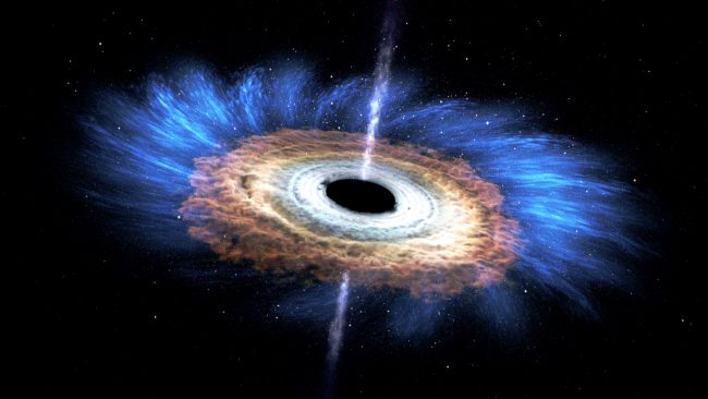 В нашей галактике может быть 100 миллионов черных дыр