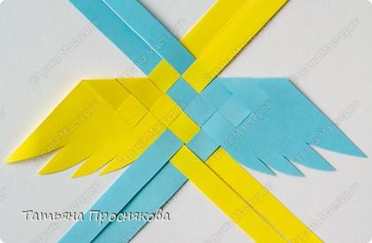Мастер-класс Поделка изделие Плетение Плетёные птички Бумага фото 9