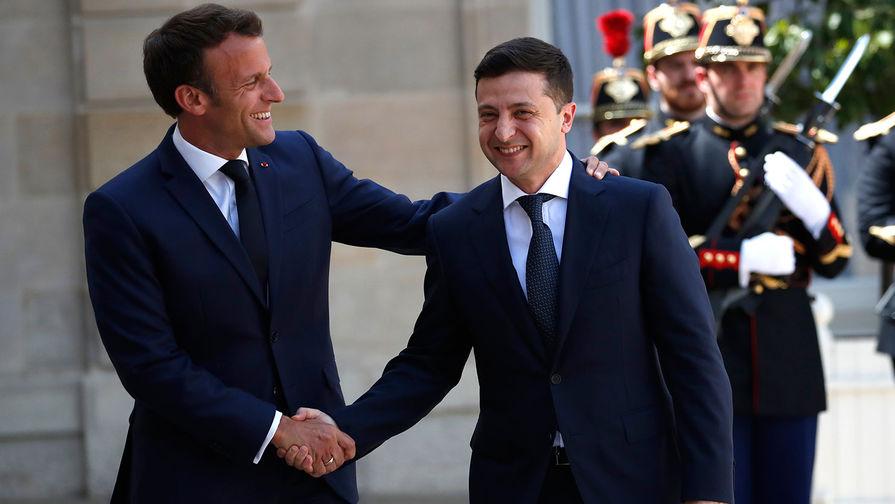 В Киеве призвали разорвать дипотношения с Парижем