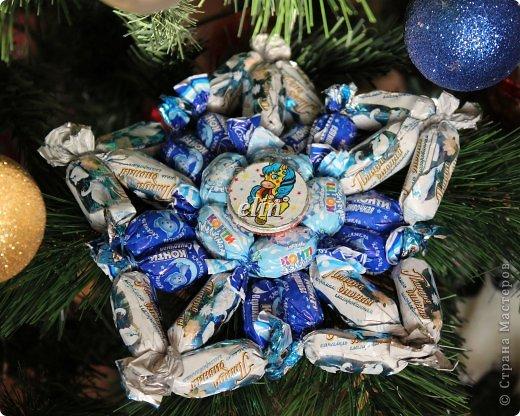 Мастер-класс Свит-дизайн Упаковка Новый год Разные сладкие работы Бумага Материал оберточный Проволока Продукты пищевые фото 37