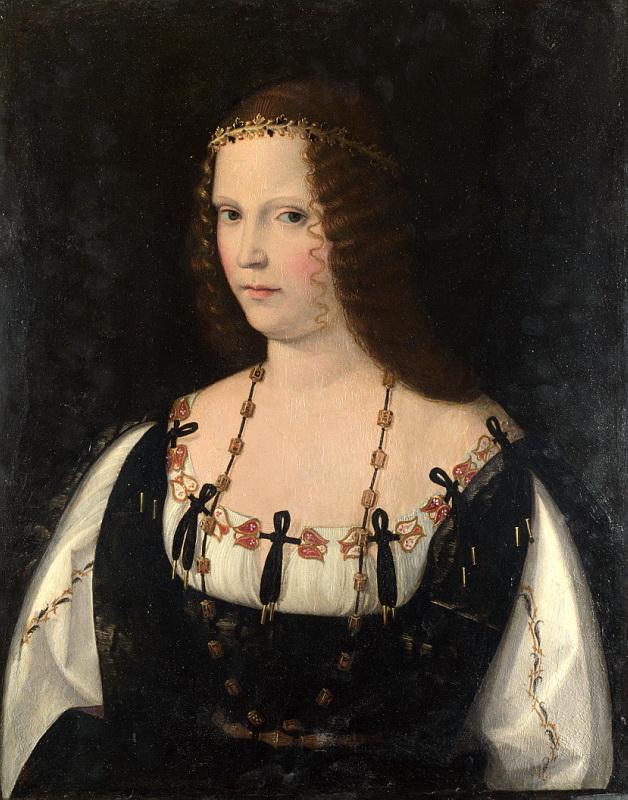 Bartolomeo Veneto - Portrait of a Young Lady. Национальная галерея, Часть 1