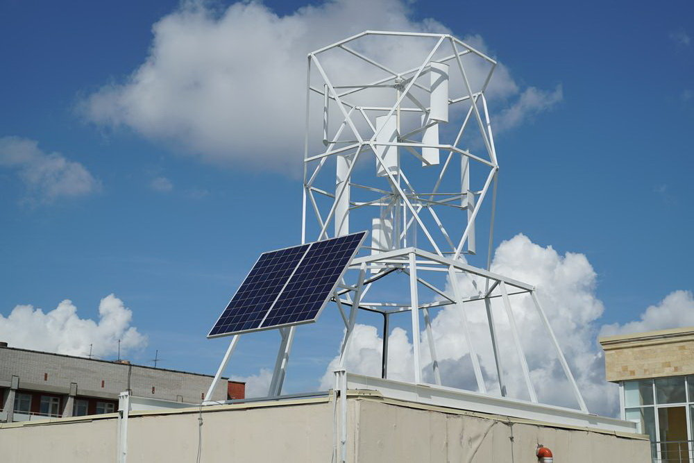 В Ижевске стартовало производство ветроэнергогенераторов