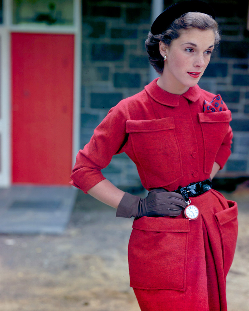 1940 Vogue Fashion  Winter Coats and Dresses  Glamour Daze