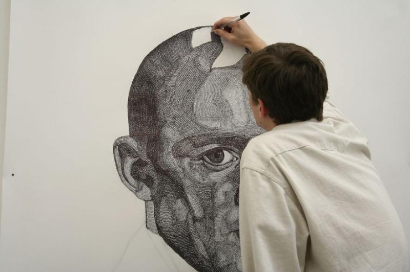 Самые крутые картины, нарисованные шариковыми ручками