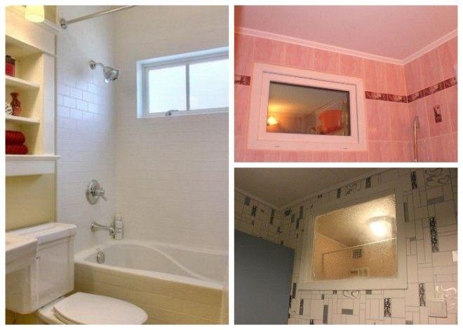 Наличие окна между кухней и ванной предусматривали санитарные нормы
