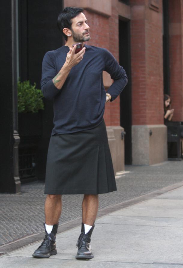 Мужественен ли мужчина в юбке?