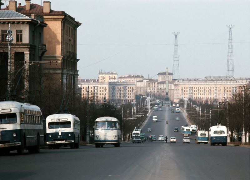 СССР 1967 г. на снимках Георга Одднера. Разные города