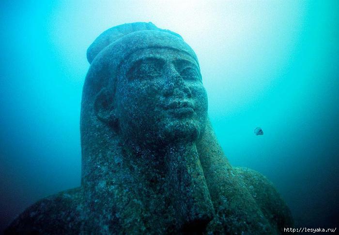 Египетский город найден под водой спустя 1200 лет .