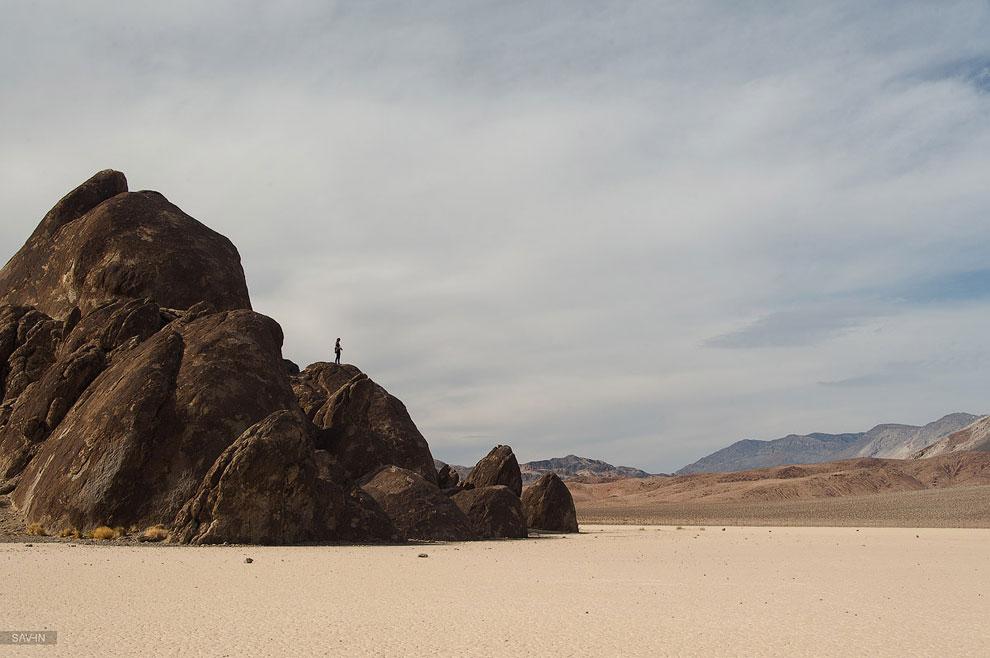 Долина Смерти в Северной Америке