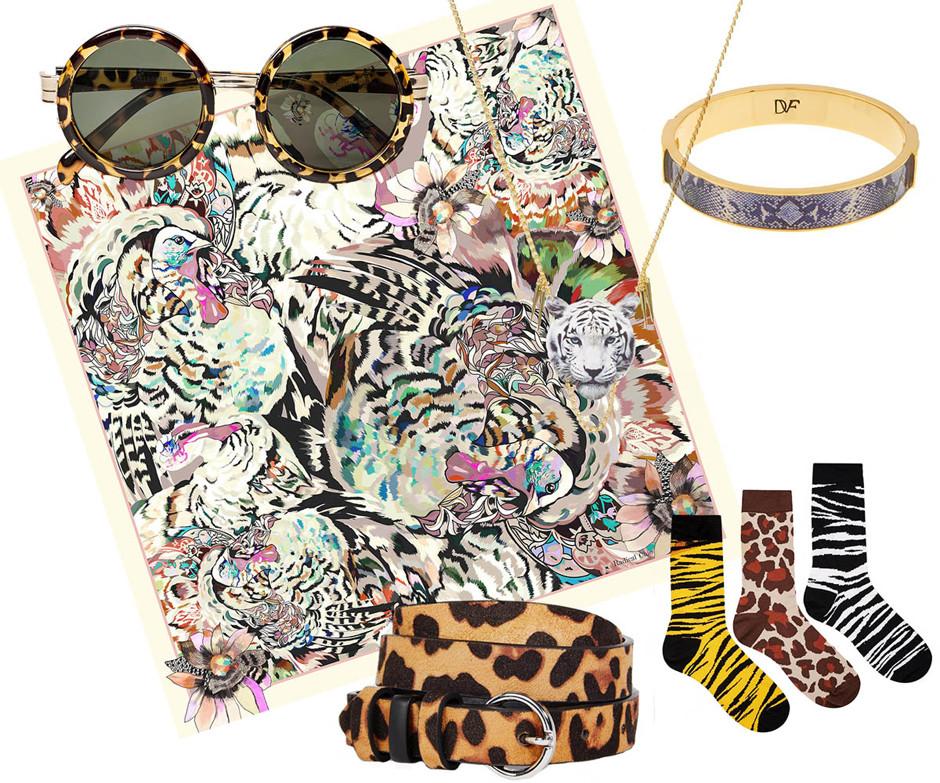Как носить леопардовые вещи и не выглядеть вульгарно