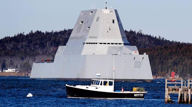 Эсминцы Zumwalt: величайший провал в истории ВМС США?