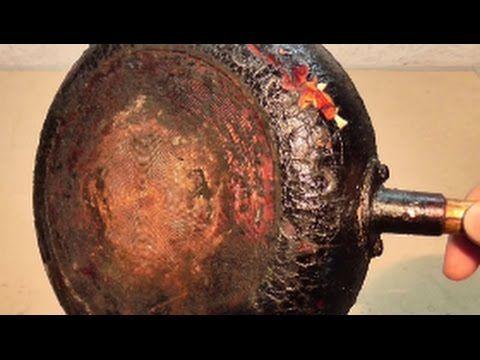 Советский способ чистки кастрюль, сковородок и сковородок