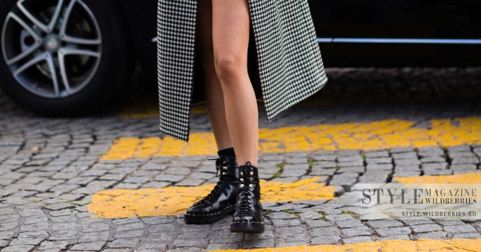 Носим стильно: Грубые ботинки