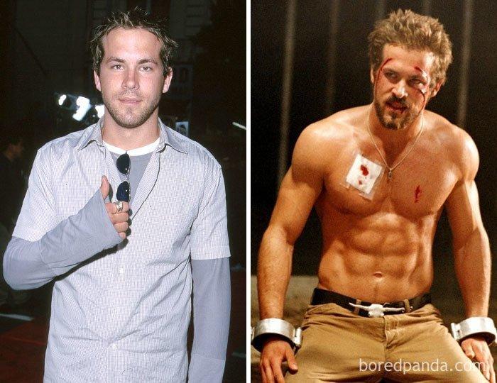 """Райан Рейнольдс, """"Блейд 3: Троица"""" актеры, до и после, интересное, кино, подборка, роли, роли актёров, фильмы"""
