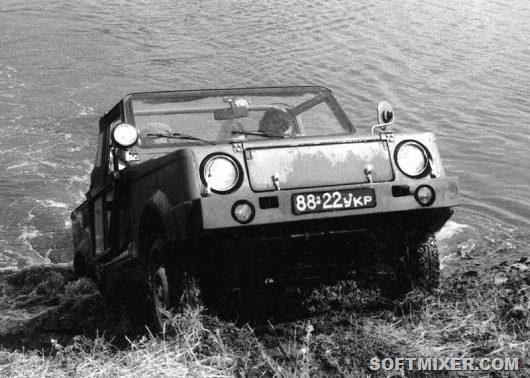 История советских машин - амфибий