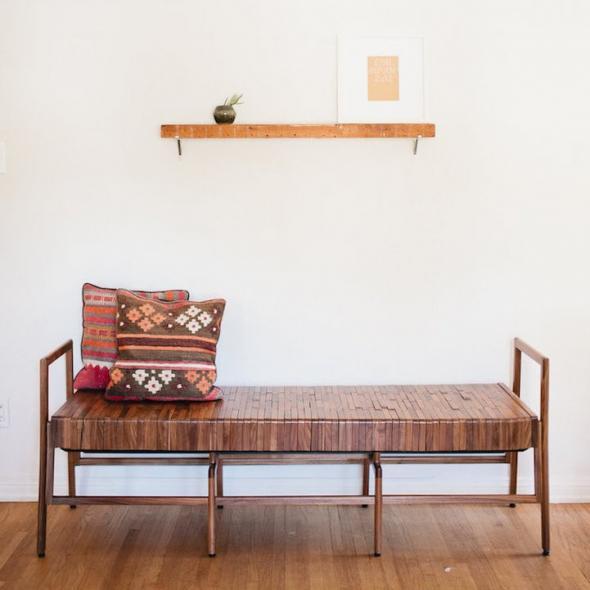 Мягкая деревянная мебель без пуха, ткани и т.д.