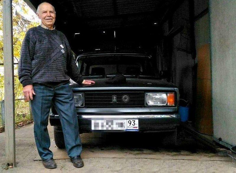 Водитель из Краснодара с 70-летним стажем ни разу не попал в ДТП