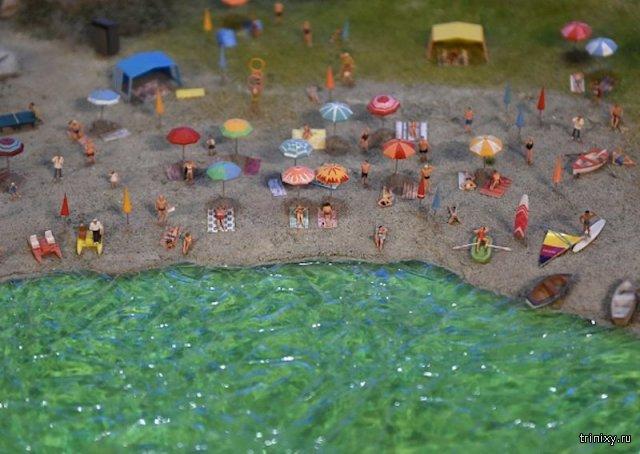 Экскурсия по выставке миниатюр известных миниатюр мира