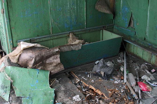 Заброшенное депо