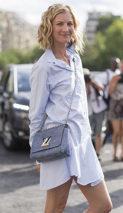 модное платье рубашка весна лето 2016