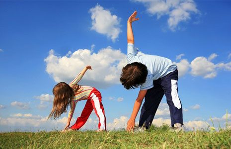 Основные правила утренней зарядки для детей