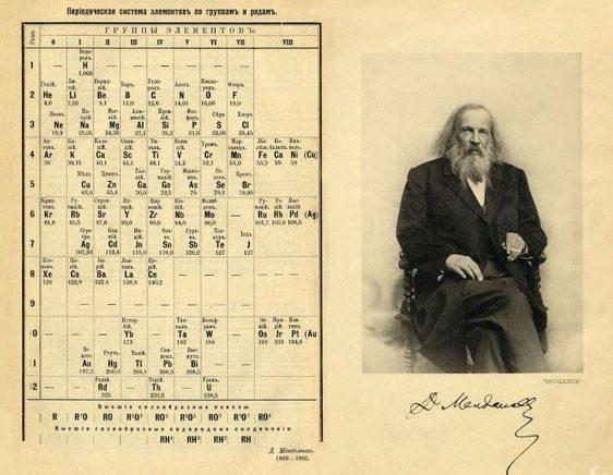 Какой-то старик спит и видит таблицу: пачка любопытных фактов о таблице Менделеева
