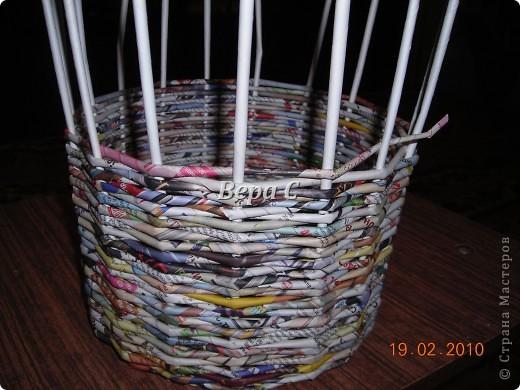 Мастер-класс Плетение: Мастер класс плетения из газеты для новичков Бумага газетная Отдых. Фото 12