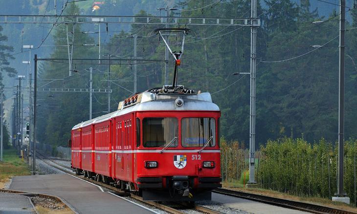 Ретийская железная дорога