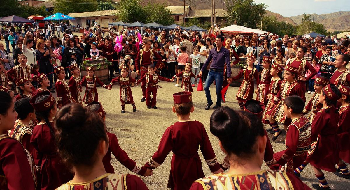 Areni01 Фестиваль вина в армянском Арени
