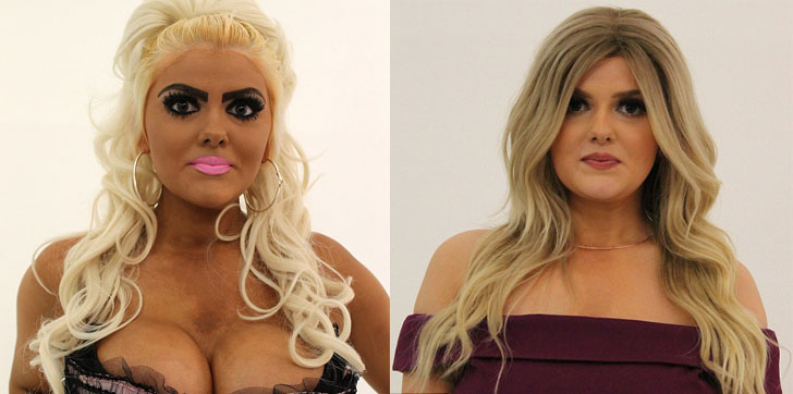 Она поклонница Барби? Точно? Фанатке Барби показали, что такое правильный макияж