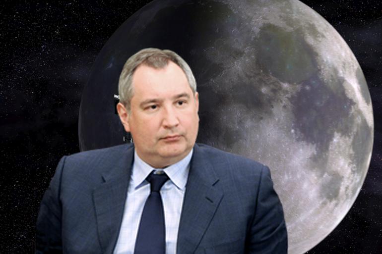 Рогозин предложил проверить, были ли американцы на Луне