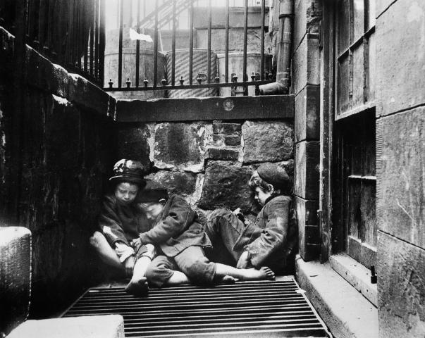 Трущобы Нью-Йорка,1890-е