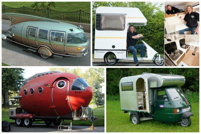 Поражающие воображение дома на колесах автомир, дома на колесах, красота, удобство, чудеса