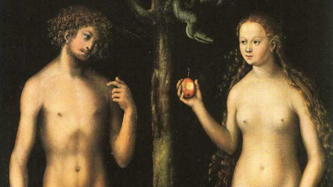 Адам сознательно пошёл за Евой в ад