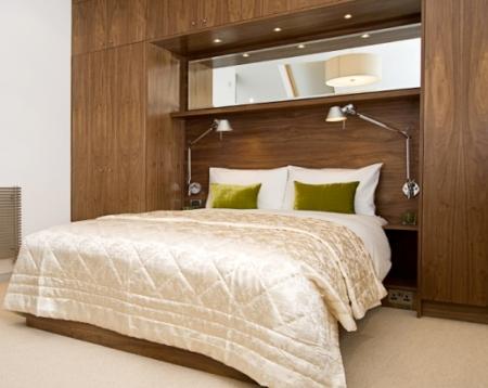 Шкафы в спальне Фотогаллереи интерьеров спален. Дизайн спален