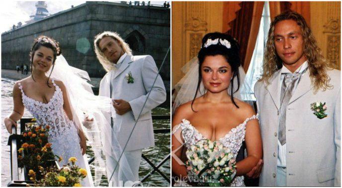 Кадры со свадеб российских з…