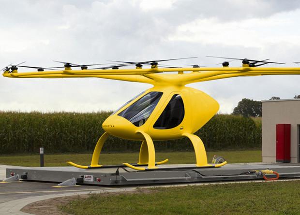 Аэротакси Volocopter испытают в роли «скорой»