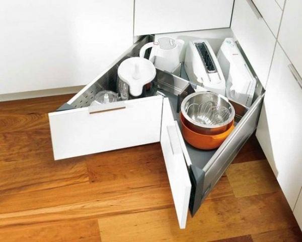 20 блестящих идей хранения на кухне
