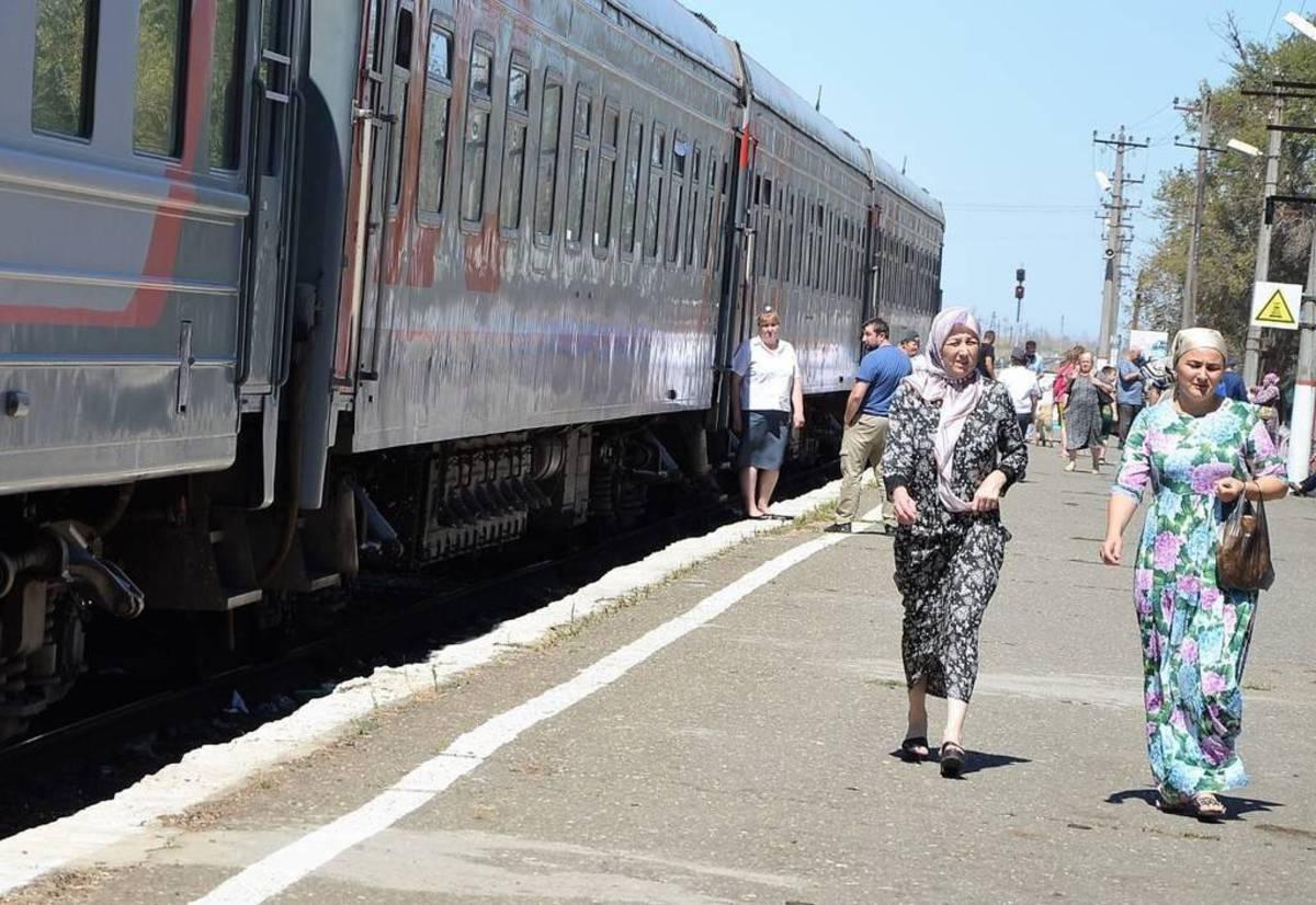 Фотопутешествие на поезде с Урала на Северный Кавказ
