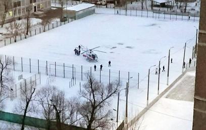 Спасение детей из горящей квартиры в Москве попало на видео