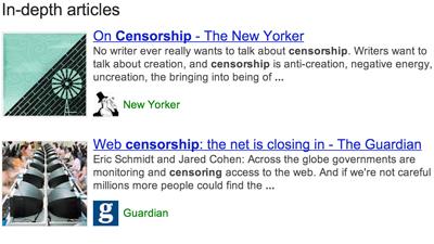 В поиск Google добавили глубины