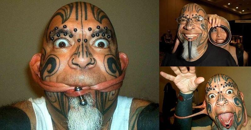 10 человек с самыми невероятными модификациями внешности