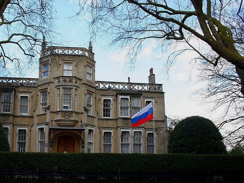 8. В Лондоне посольство, россия, фото, чиновники