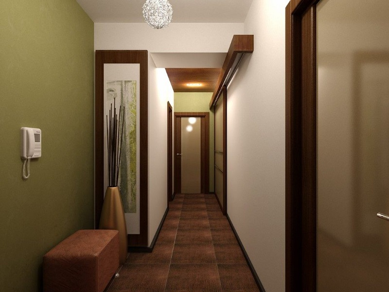 5 потрясающих идей, чтобы сделать узкий коридор уютным и функциональным!