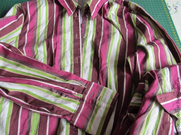 «Даёшь вторую жизнь устаревшей блузке!»: шьем тужурку